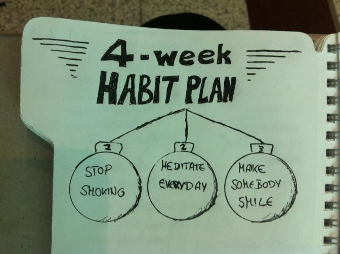 #01: Stopover Dubai. The 4-week-habit plan