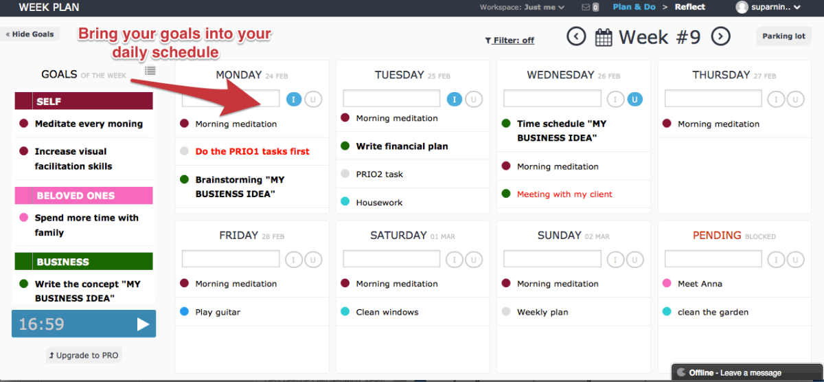 How to increase your weekly success? 5 tips for a better weekly time management