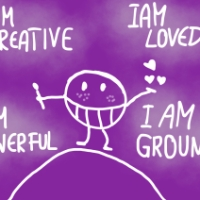 Mantra of the week: I am creative, i am loved, i am powerful, i am grounded