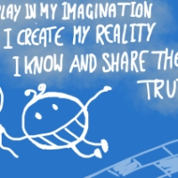 Mantra of the week: I play in my imagination...