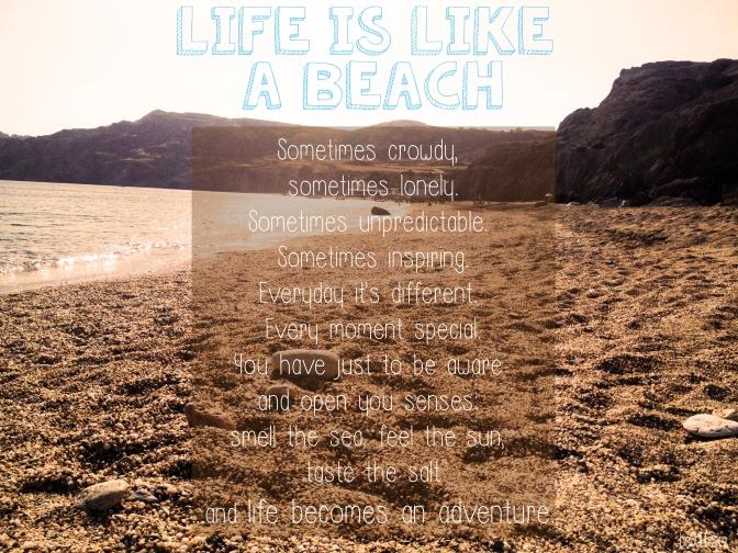Life Is Like A Beach